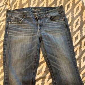 American Eagle Artist Stretch Dark Wash Jeans